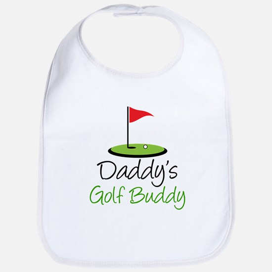 Daddy's Golf Buddy Baby Bib