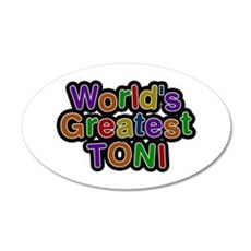 World's Greatest Toni Wall Decal
