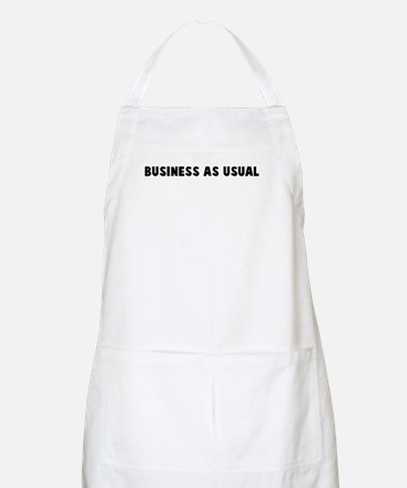 Business as usual BBQ Apron