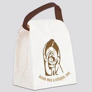Jesus was a refugee, too Canvas Lunch Bag