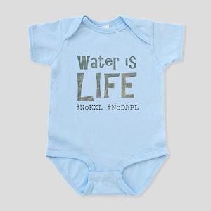 Water is Life - #NoKXL, #NoDAPL Body Suit