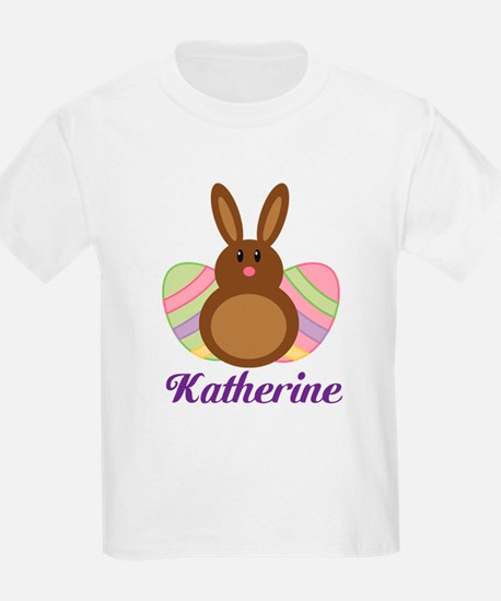 Personalized Easter Bunny Eggs T-Shirt