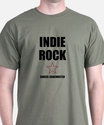 INDIE ROCK SINGER-SONGWRITER T-Shirt