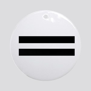 Equality Round Ornament