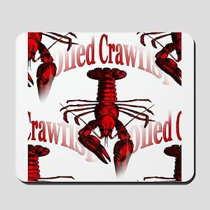 Boiled Crawfish Mousepad