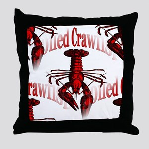 Boiled Crawfish Throw Pillow