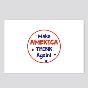 Make America Think Again Postcards (Package of 8)
