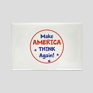 Make America Think Again Magnets