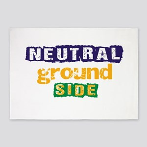 Neutral Ground Side 3 5'x7'Area Rug