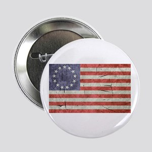 """Betsy Ross Worn 13 Star Fla 2.25"""" Button (10 pack)"""