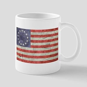 Betsy Ross Worn 13 Star Flag Mug