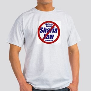 NO Sharia Law in America T-Shirt