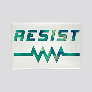 RESIST! Rectangle Magnet