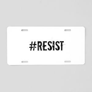 #RESIST Aluminum License Plate