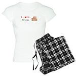 I Love Crocks Women's Light Pajamas