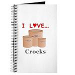I Love Crocks Journal