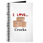 I Love Crocks Journal