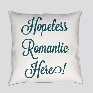 Hopeless Romantic Everyday Pillow