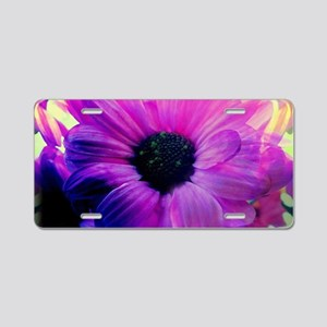 Spring Bloom Aluminum License Plate