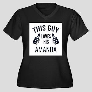 Amanda- love Plus Size T-Shirt