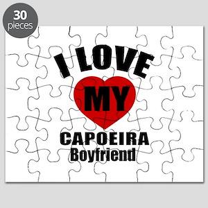 I love My Capoeira Boyfriend Designs Puzzle