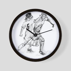 Footballers Wall Clock