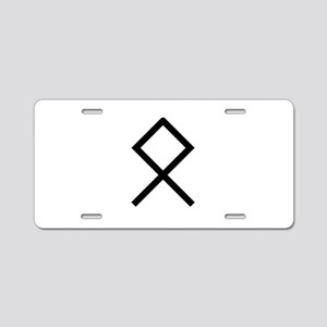 odal Aluminum License Plate