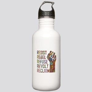 RESIST, REBEL... Water Bottle