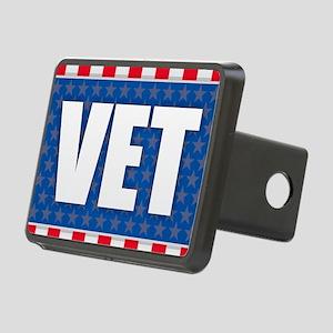 Vet - Veteran Rectangular Hitch Cover