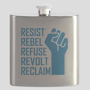 RESIST, REBEL... Flask