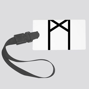 Madr (The Rune Of Mankind) Large Luggage Tag