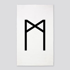 Madr (The Rune Of Mankind) Area Rug