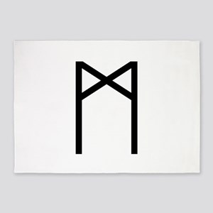 Madr (The Rune Of Mankind) 5'x7'Area Rug