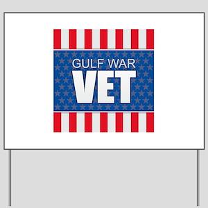 Gulf War Vet Yard Sign