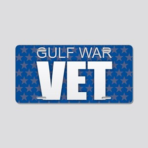 Gulf War Vet Aluminum License Plate