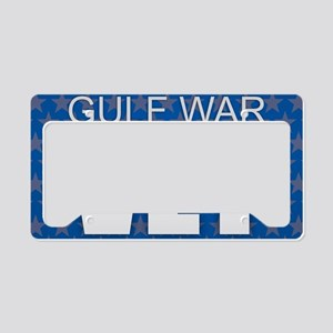 Gulf War Vet License Plate Holder