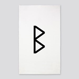 Bjarkan (The Rune Of Growth) Area Rug