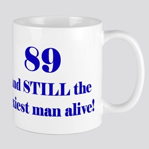 89 Still Sexiest 2 Blue Mugs