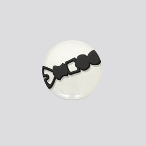 Welsh Love Spoon Mini Button