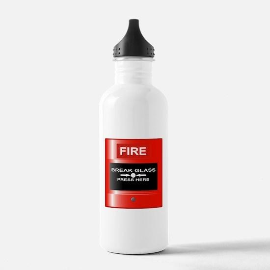 Fire Emergency Red But Sports Water Bottle