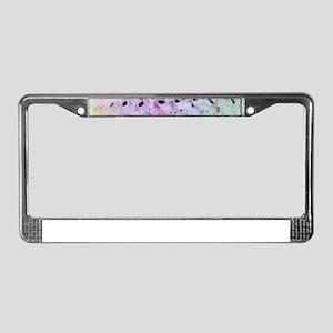 Sea Shells License Plate Frame