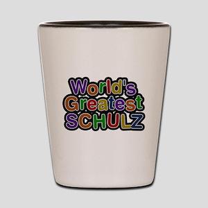 Worlds Greatest Schulz Shot Glass