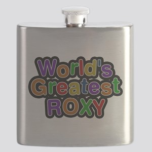 Worlds Greatest Roxy Flask