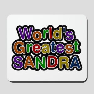 World's Greatest Sandra Mousepad