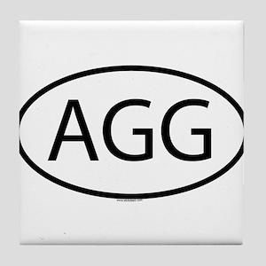 AGG Tile Coaster