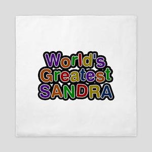World's Greatest Sandra Queen Duvet