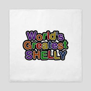 World's Greatest Shelly Queen Duvet