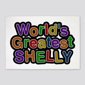 World's Greatest Shelly 5'x7' Area Rug