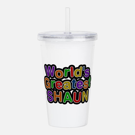 World's Greatest Shaun Acrylic Double-wall Tumbler