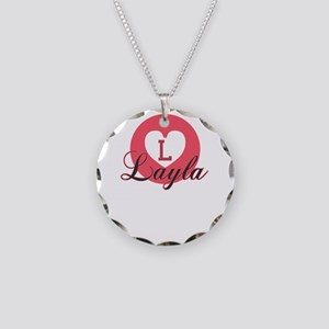 layla Necklace Circle Charm